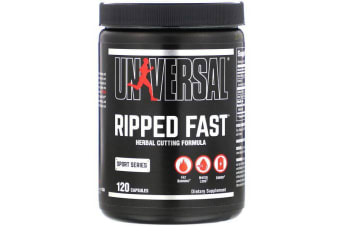 Universal Nutrition Ripped Fast Herbal Cutting Formula - 120 Capsules