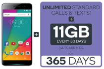 Kogan Agora 6 Plus (32GB) + Kogan Mobile Prepaid Voucher Code: LARGE (365 Days | 11GB Per 30 Days)