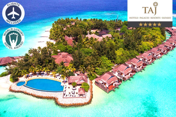 MALDIVES: 5 Night Maldives Package Including Flights For Two (Departing MEL)