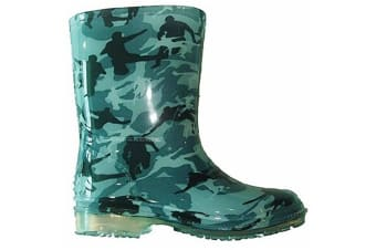 Cotswold Pvc Toddler Boys Wellington / Boys Boots (Camouflage)