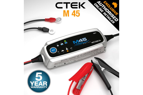 CTEK 12V 3.6Amp M45 Smart Battery Charger