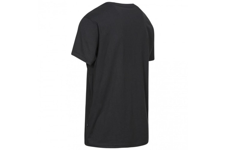 Trespass Mens Chained Short Sleeve T-shirt (Black) (L)