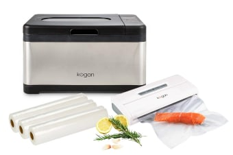 Kogan 10L Sous Vide Precision Cooker with Vacuum Sealer and Rolls