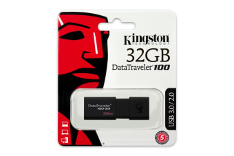 Kingston Technology DataTraveler 100 G3 USB flash drive 32 GB USB Type-A 3.2 Gen