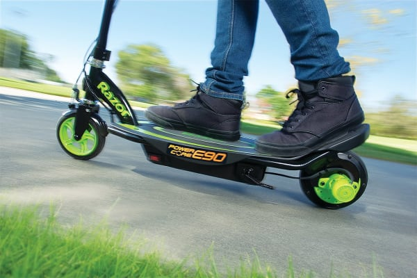 Razor Powercore E90 Scooter (Green)