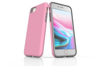 Pink For iPhone 7 Tough Case  Protective Back Cover