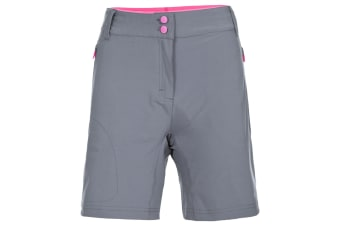 Trespass Womens/Ladies Edgar Cycling Shorts (Storm Grey) (S)