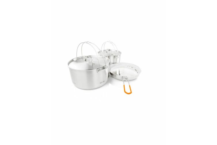 GSI Glacier Stainless Troop Cookset Cookware