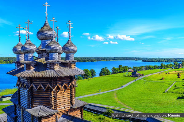 RUSSIA: 20 Day Russian Rivers & Norwegian Fjords Cruises Including Flights for Two (Ocean View Cabin)