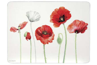 Ashdene Poppies AWM Placemat Set of 4 29cm