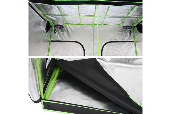 Waterproof Grow Tent (Black/Green)