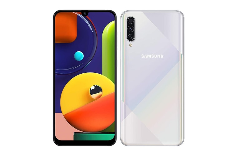 Samsung Galaxy A50s Dual SIM (4GB RAM, 128GB, Prism Crush White)