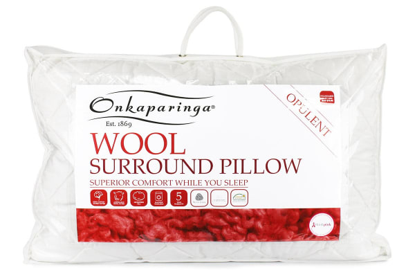 Onkaparinga Wool Surround Pillow