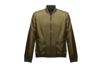 Regatta Mens Originals Castlefield Bomber Jacket (Dark Khaki)