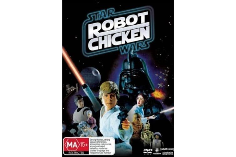 Star Wars: Robot Chicken Special  -Animated Rare- Aus Stock DVD  PREOWNED: DISC LIKE NEW
