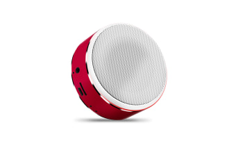 Mini Bluetooth Speaker Intelligent Portable Bass Cannon Wireless Speaker Red