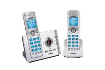 2pc VTech CLS17551 Handset DECT 6.0 WiFi Cordless Home Phone w/ Mobile Connect