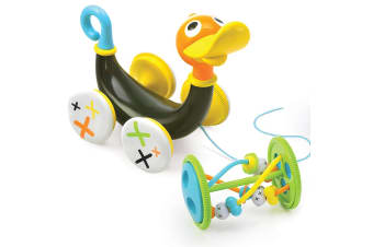 Yookidoo Pull Along Baby Acitivity Toy Whistling Duck