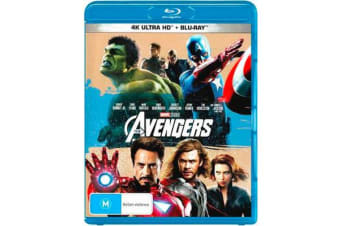 The Avengers (2012) (4K UHD/Blu-ray)