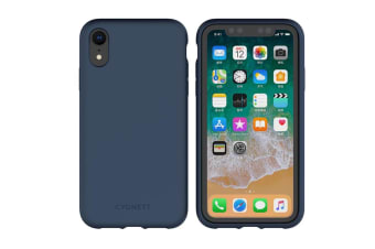 Cygnett Skin Soft Feel Case for iPhone XR - Navy (CY2613CPSKI)