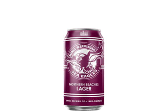 4 Pines x Sea Eagles Northern Beaches Lager 375mL Case of 24