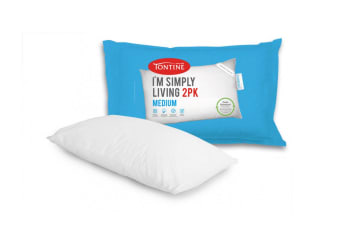 Tontine Simply Living Pillow 2-Pack (Medium)