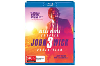John Wick Chapter 3 Parabellum Blu-ray Region B