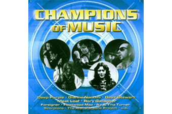 Champions Of Music Foreigner/Scorpions/Deep Purple/Humble Pie/Meat Loaf NEW