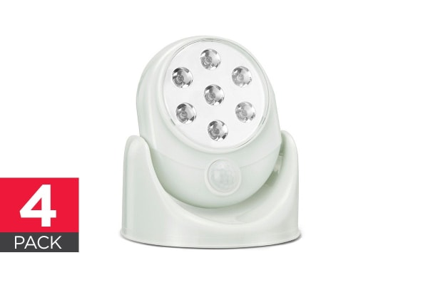 Kogan Motion Activated Cordless Light (4 Pack)