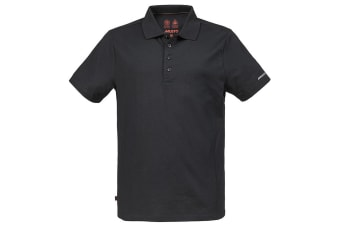 Musto Mens Evolution Sunblock Short Sleeve Polo Shirt (Black)