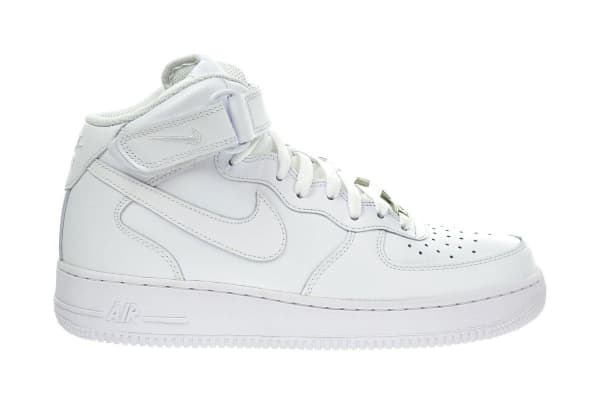 Nike Men's Air Force 1 Mid '07 Shoe (White, Size 9)