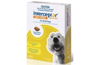 Interceptor Spectrum Chews Small Green - 3p