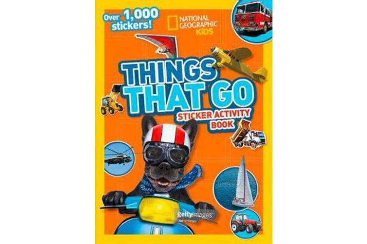 Things That Go Sticker Activity Book - Over 1,000 Stickers!