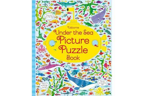 Under the Sea Picture Puzzle Book
