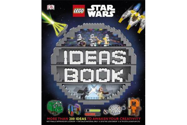 Image of LEGO Star Wars Ideas Book - More than 200 Games, Activities, and Building Ideas