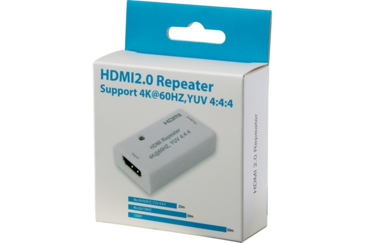 HDMI2.0 4K2K REPEATER YUV RGB 4:4:4 HDMI REPEATE Supports 3D