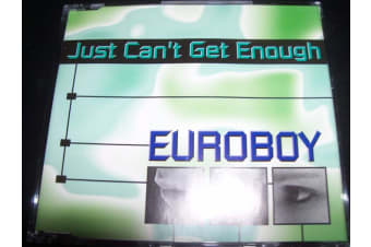 Euroboy ‎– Just Can't Get Enough PRE-OWNED CD: DISC EXCELLENT