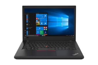 "Lenovo 14"" Thinkpad T480 I5-8250U 8GB RAM 256GB SSD Windows 10 FHD Notebook (20L5001KAU)"