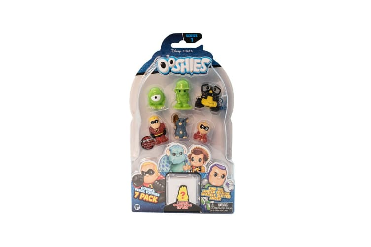 Ooshies Pixar Assorted 7 Pack