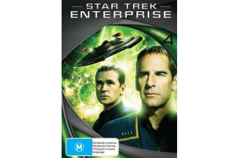 Star Trek Enterprise Season 4 DVD Region 4