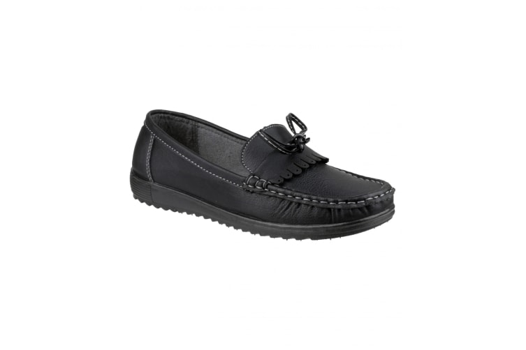 Amblers Elba Ladies Summer Shoe / Womens Shoes (Black) (38 EUR)