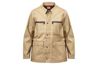 Hard Yakka Men's Legends Tough Jacket (Khaki, Size XL)