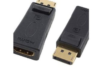 Cabac Display Port Male to HDMI Female Adaptor
