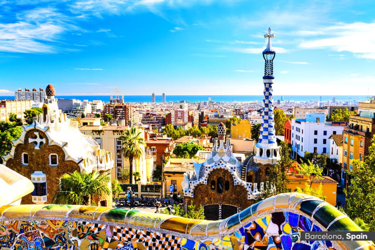 EUROPE: 15 Day Explore Spain & Mediterranean Cruise Package Including Flights for Two (Balcony Cabin)