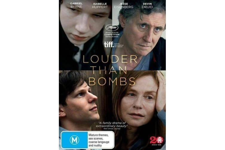 Louder Than Bombs (Gabriel Byrne) - Region 4 Rare- Aus Stock Preowned DVD: DISC LIKE NEW