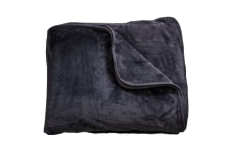 Sheraton Luxury Supersoft Blanket (Metal)