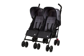 Childcare Nix Twin Double Duo Stroller Thunder Road
