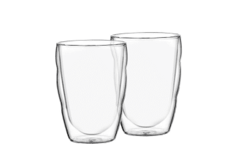 Bodum Pilatus 2pc Double Wall Glass Set 350ml