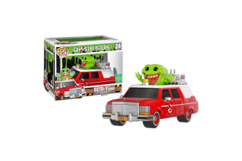 Ghostbusters (2016) Ecto 1 Red SDCC 2016 US Pop! Ride