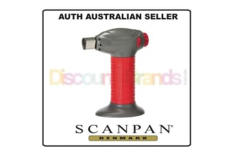 SCANPAN SOFT TOUCH SPECTRUM CREME BRULEE CHEF TORCH KITCHEN - RED COLOUR 19088